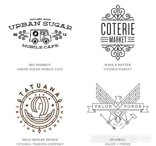 Mono Crest logo设计趋势