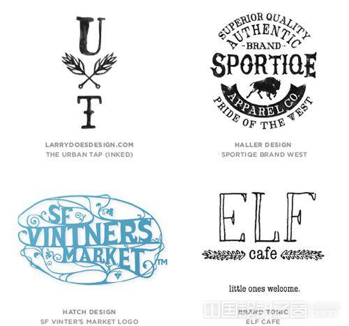 Hand Type  logo设计趋势