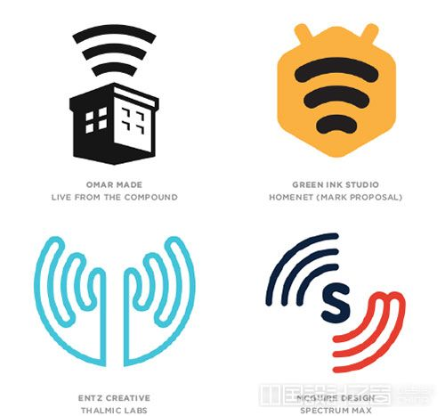 Waves logo设计趋势